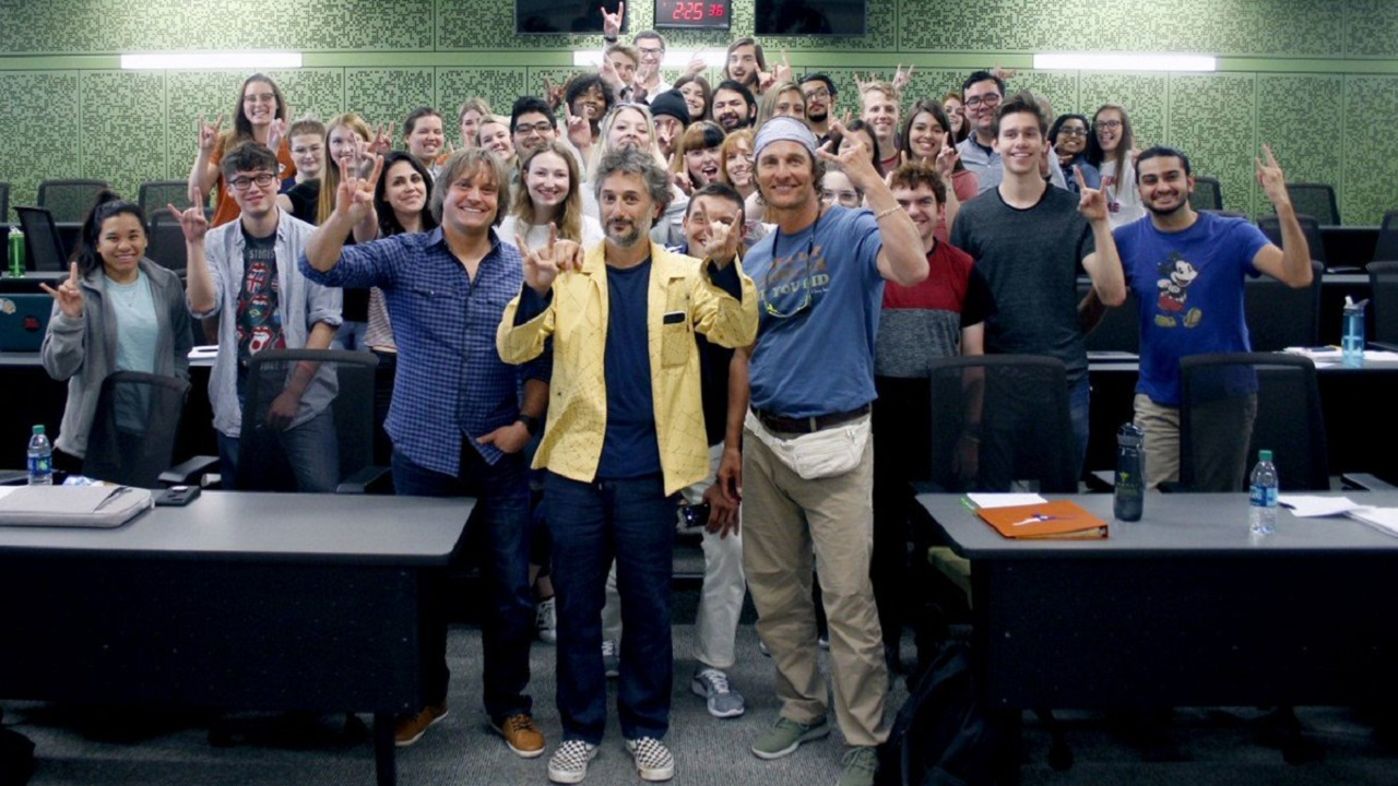 Matthew McConaughey is a College Professor Now