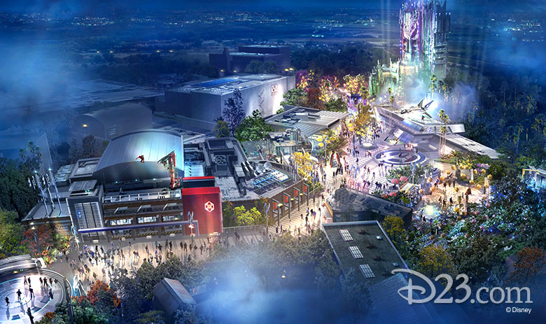 Avengers Campus at D23