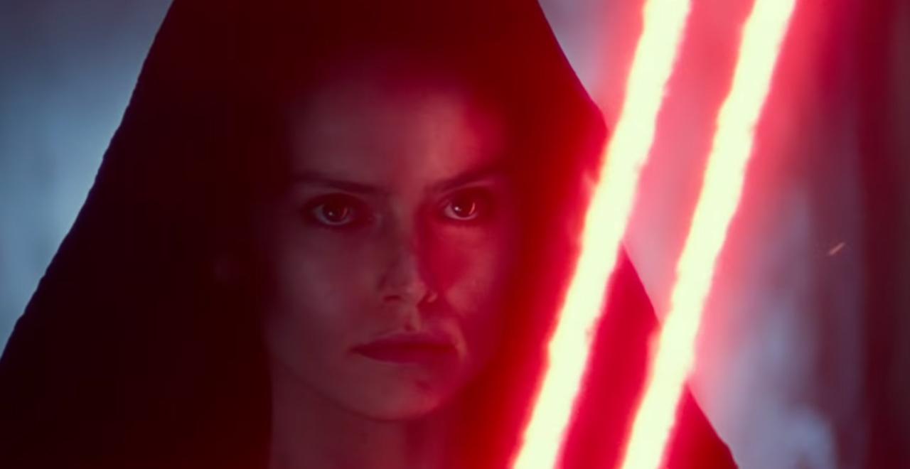 New Star Wars The Rise Of Skywalker Footage Reveals Dark Rey
