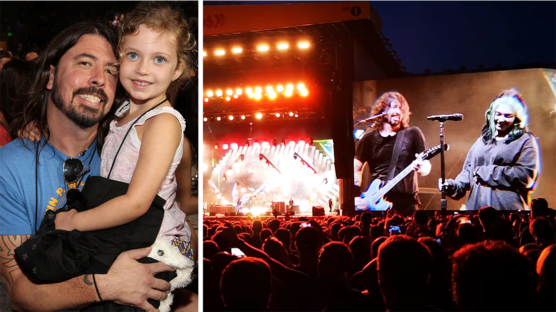 Dave Grohl's 13-Yr-Old Daughter Crushes a Performance With the Foo Fighters