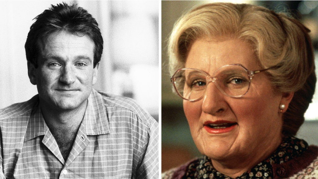 Robin William's Deleted Scenes From Mrs Doubtfire