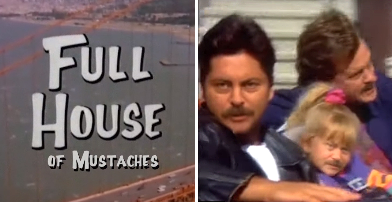Nick Offerman in Full House of Mustaches