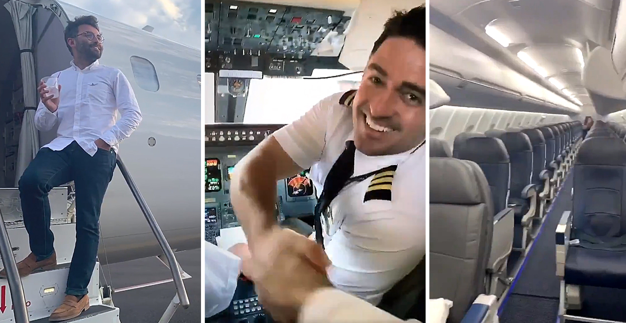Vincent Peone's Private Jet Experience
