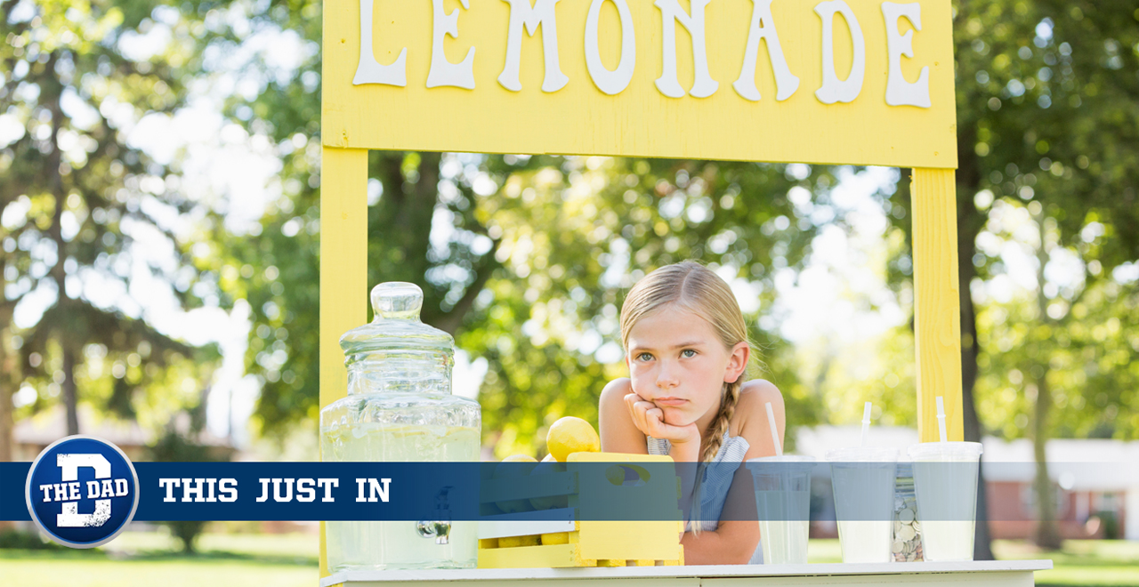 Lemonade Stand Should be Beer Stand