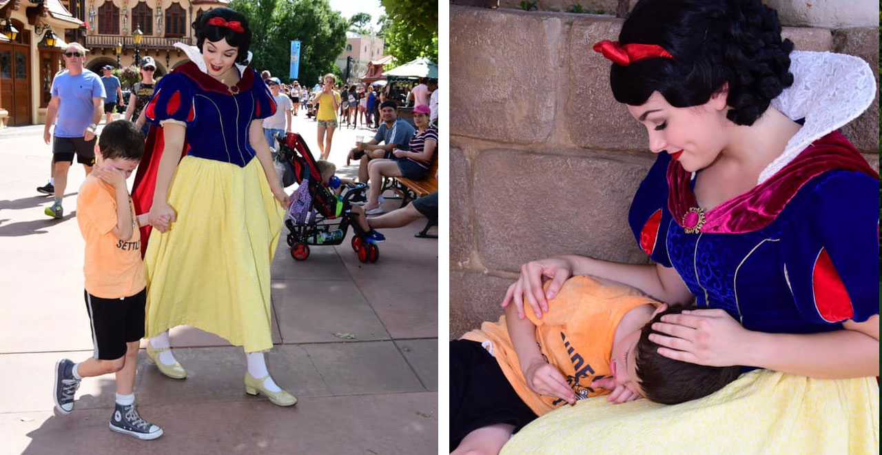 Brody Bergner and Snow White