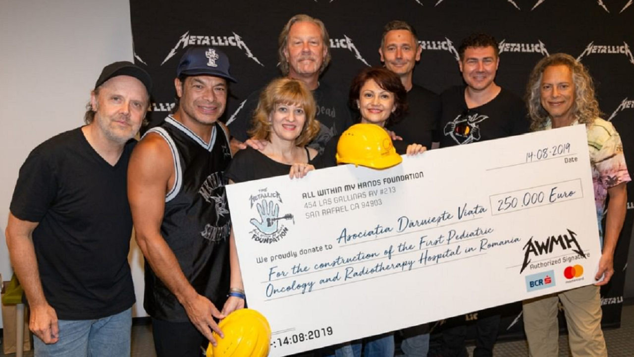Metallica Donates $300k Toward Pediatric Hospital
