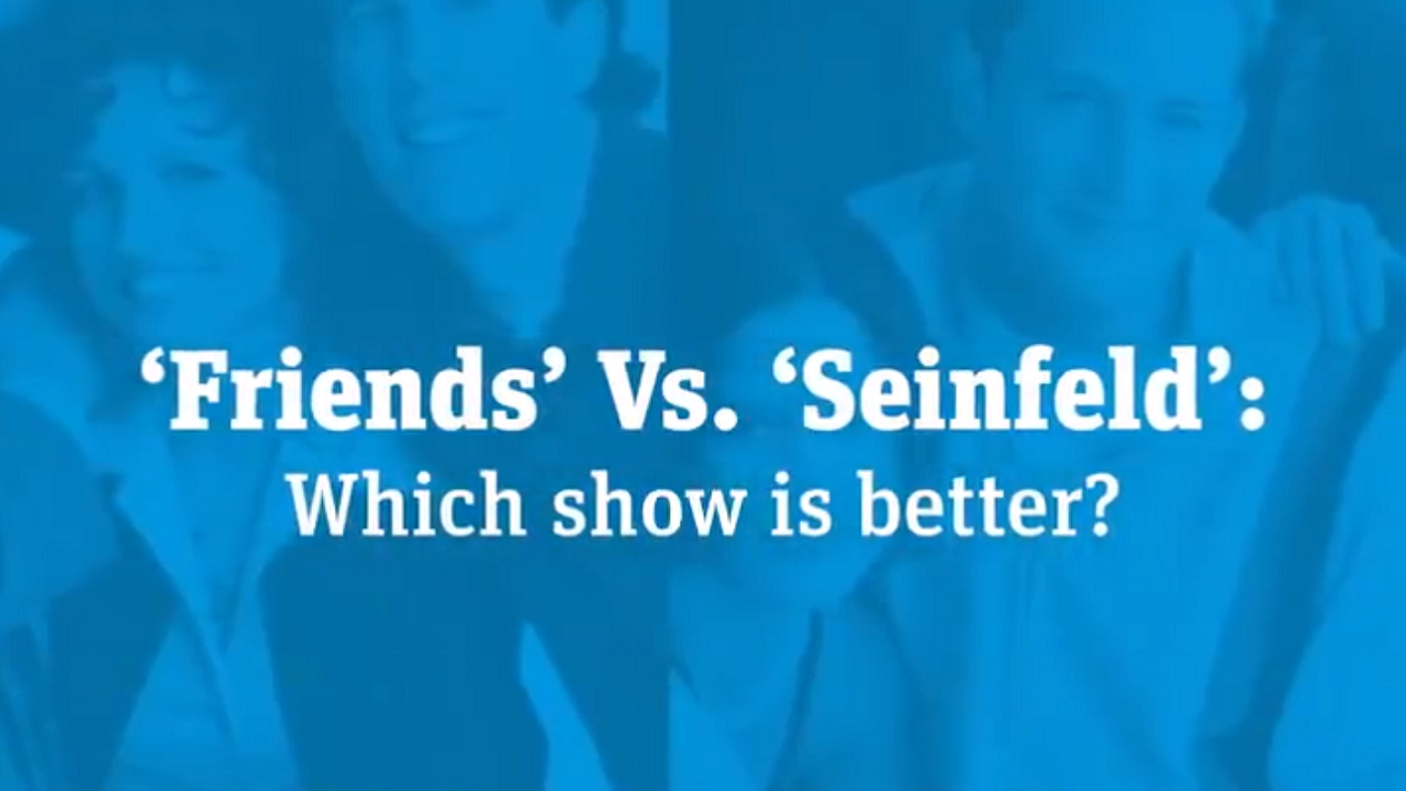 Seinfeld VS Friends Twitter Debate