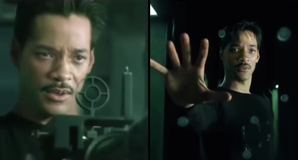 Will Smith as Neo Deepfake
