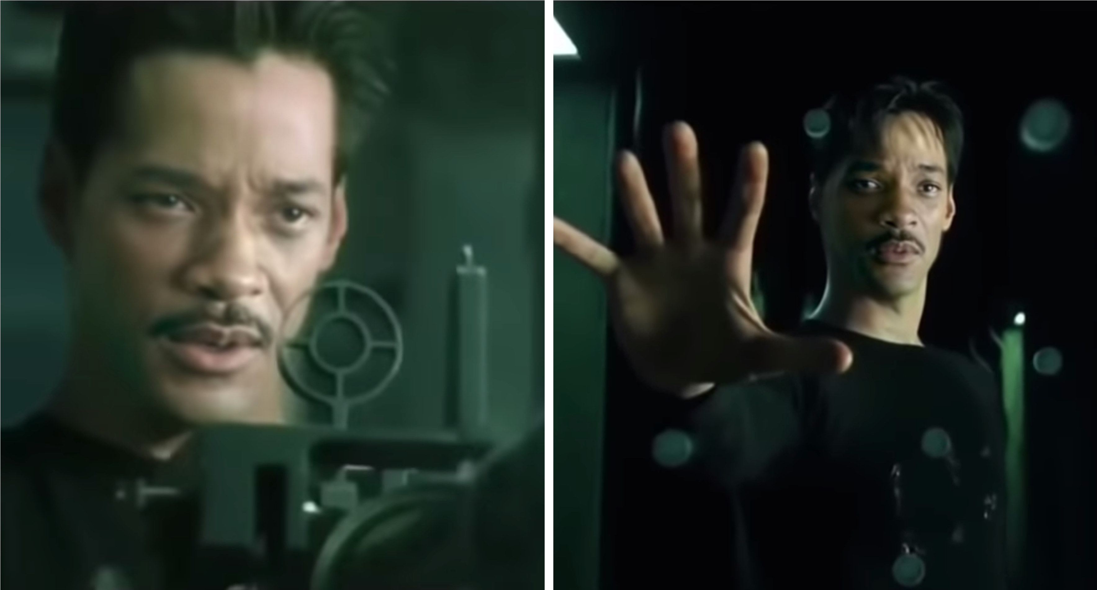 Will Smith as Neo Deepfake