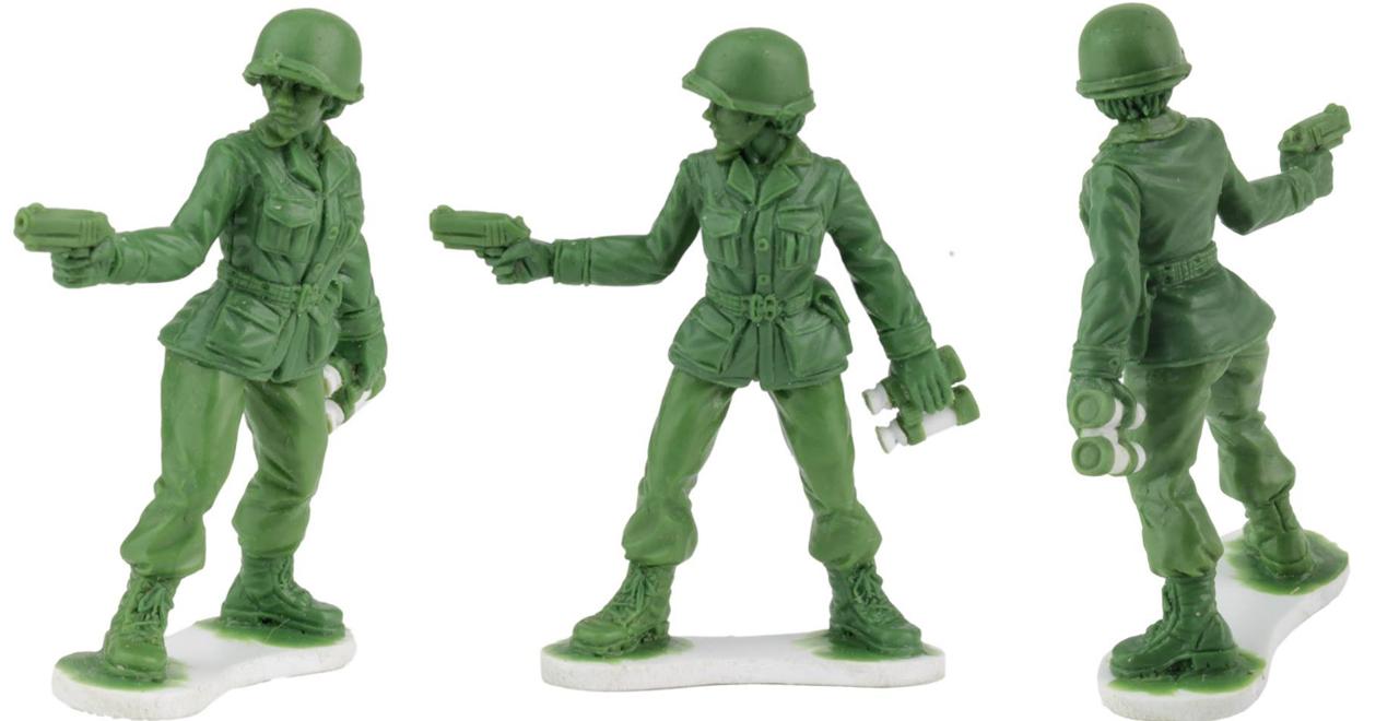 Little Green Army Women