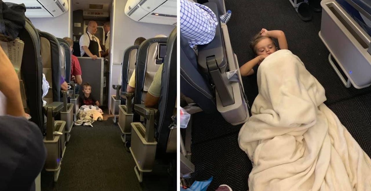 Passengers Unite to Help Boy With Autism