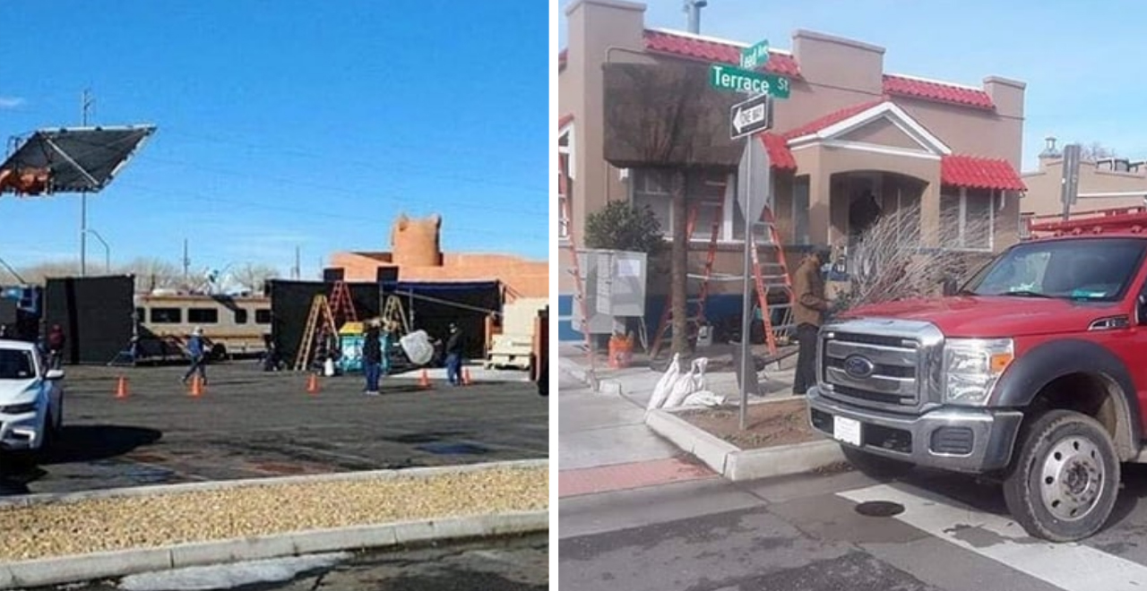El Camino Set Photos Hint at Heisenberg