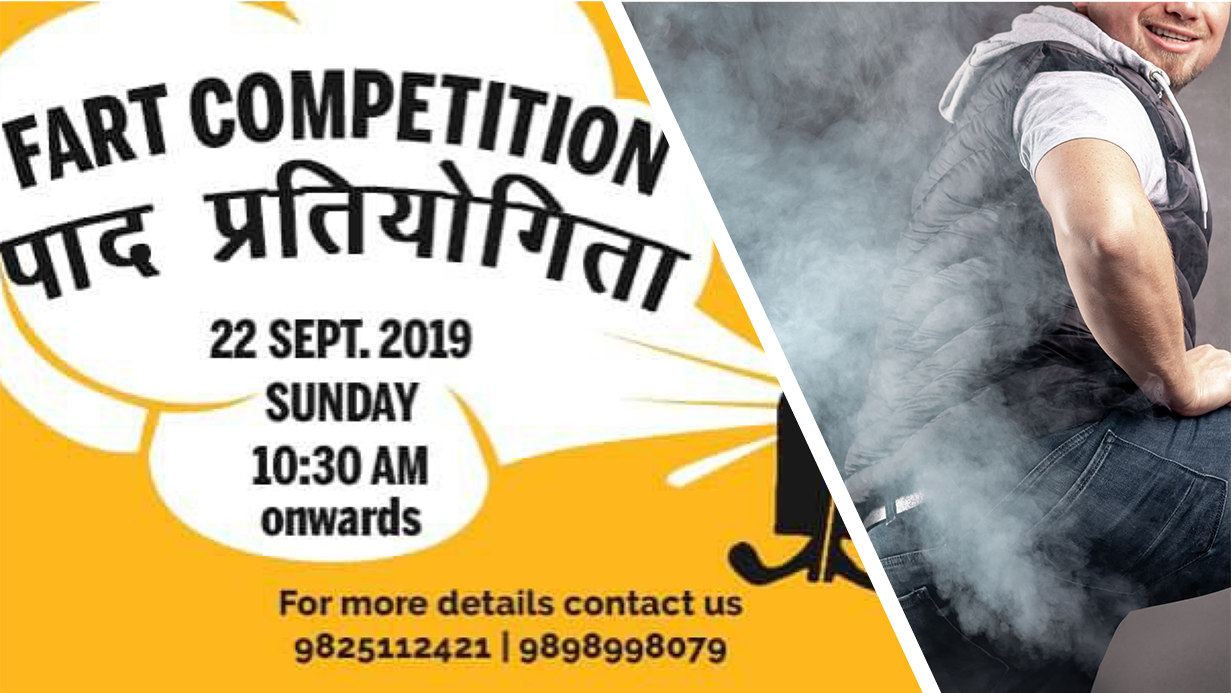 Fart Competition in India