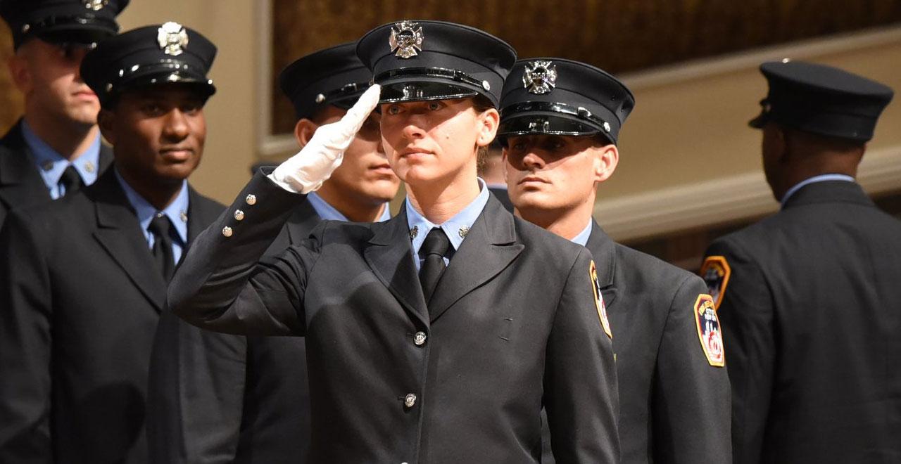 FDNY Graduates 9/11 Legacy