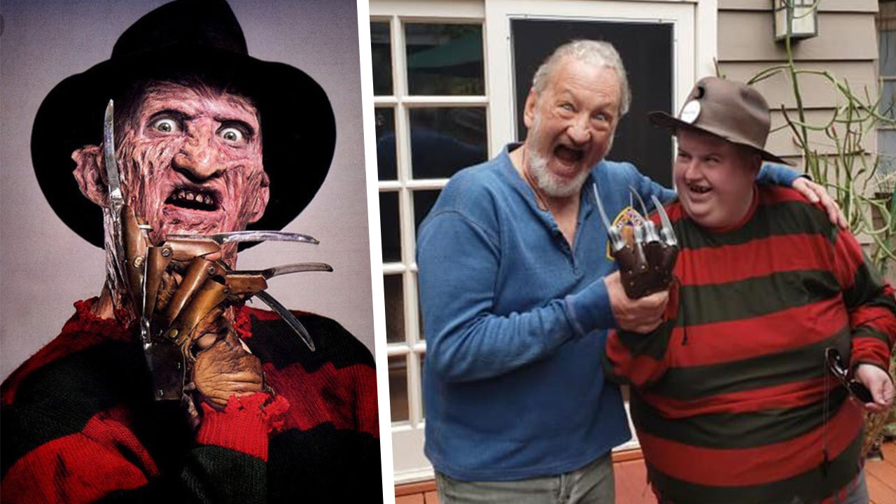 Robert Englund Helps Make A Wish