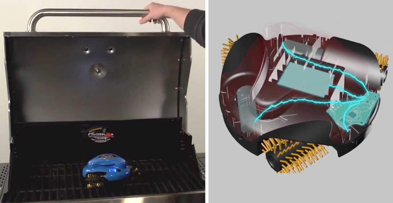 Grillbot Robot Grill Cleaner