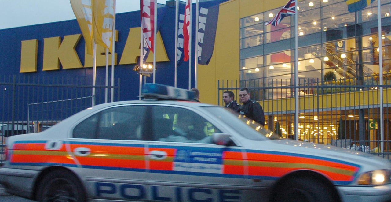 Cops Thwart IKEA Hide N Seek