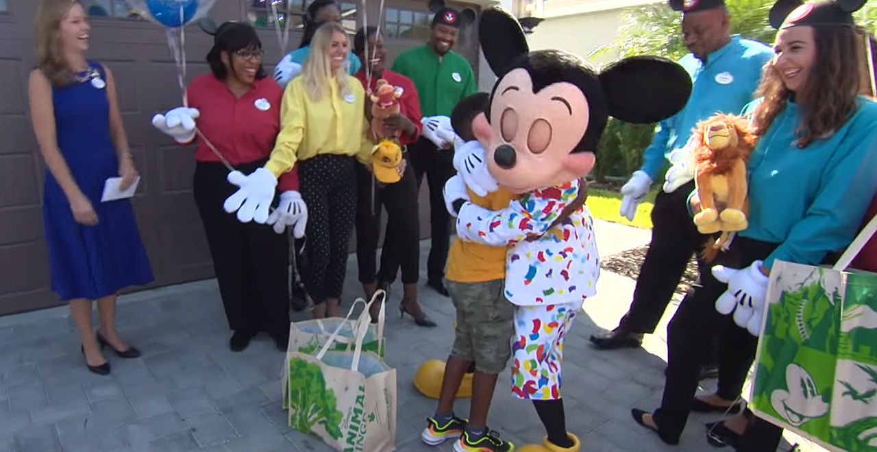 Jermaine Bell Gets Disney Surprise