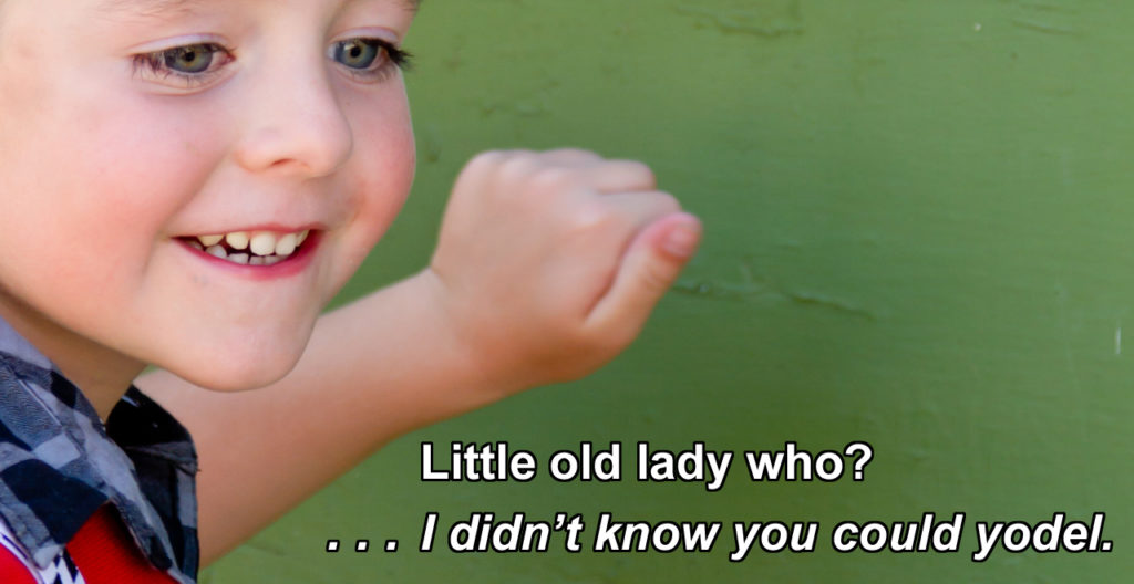 101 Knock-Knock Jokes for Kids