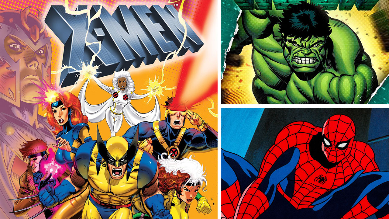 Your Favorite Marvel Cartoons From the 80s and 90s Will be on Disney+
