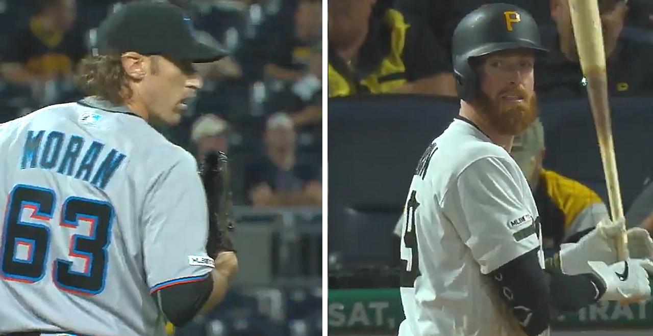 Moran VS Moran MLB Debut