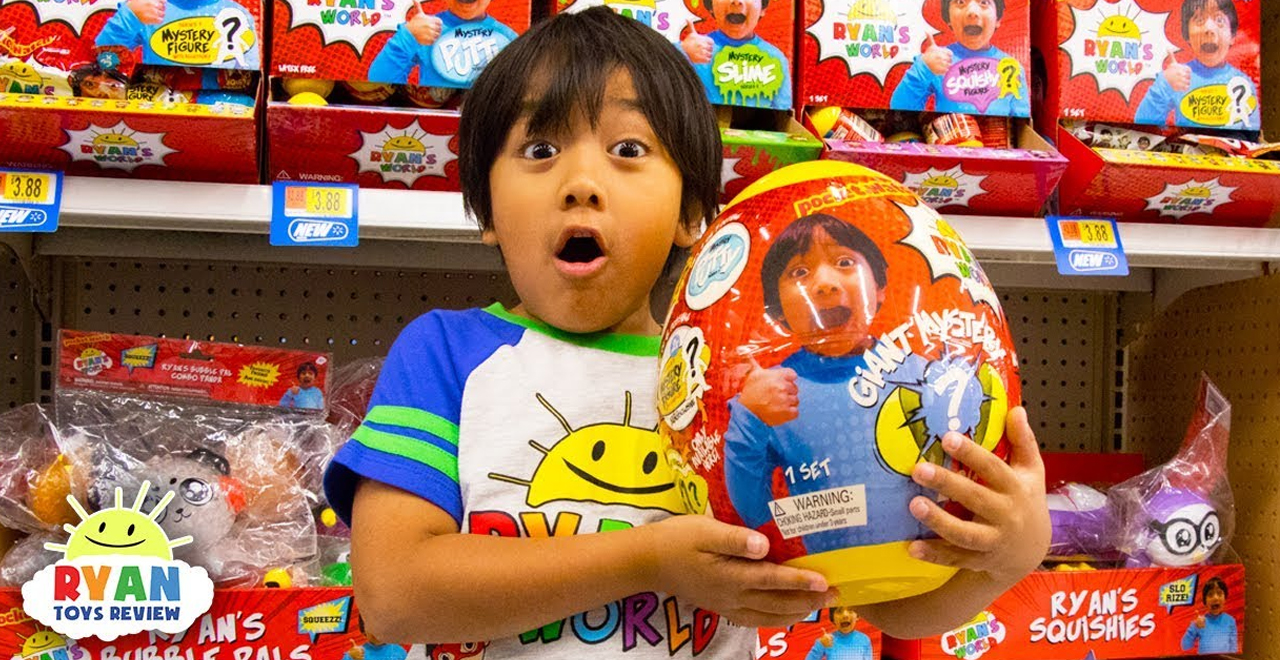 Ryan's ToysReview FTC Complaint