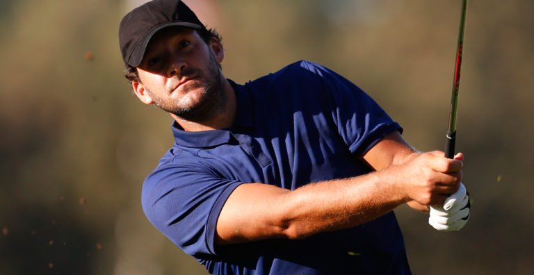 For a Minute, Tony Romo Was a World-Class Golfer