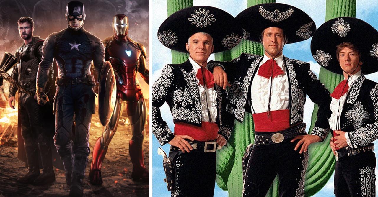 3 Amigos Avengers Remake