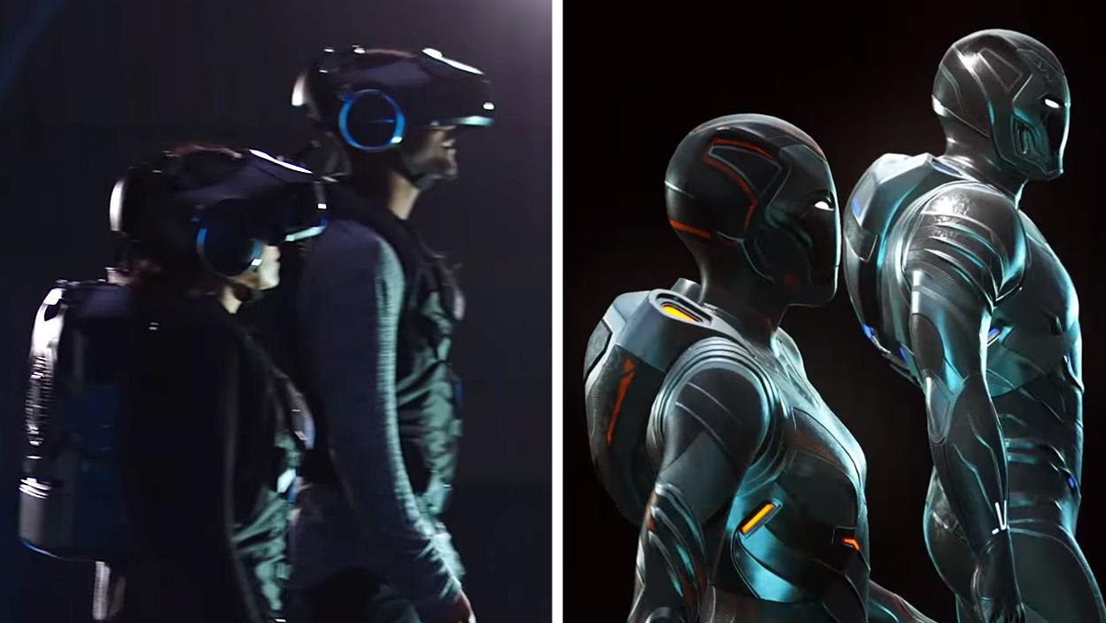 Avengers VR Game