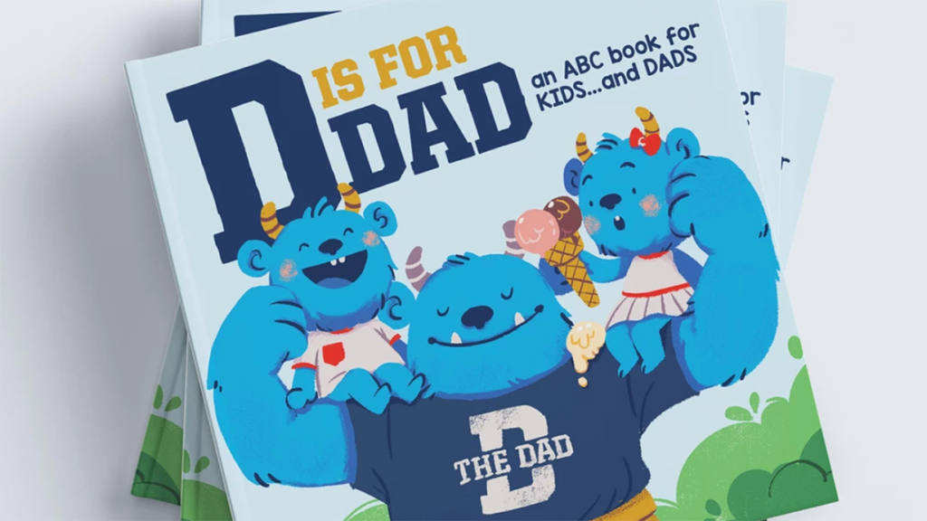 Dad is for Dad ABC Book