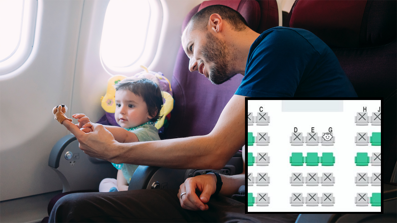 Airline in Japan Shows Where Babies Are Seated