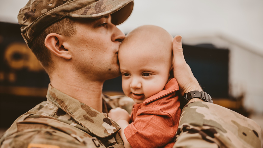Deployed Dad Returns Home To Meet 6-Month-Old Son For The First Time