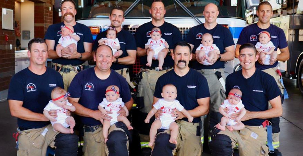 California Fire Dept. Welcomes 9 Newborns