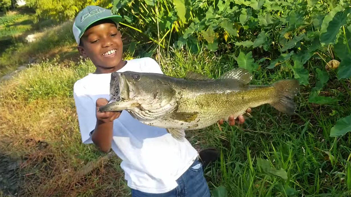 Kemary Cooper snags Bass