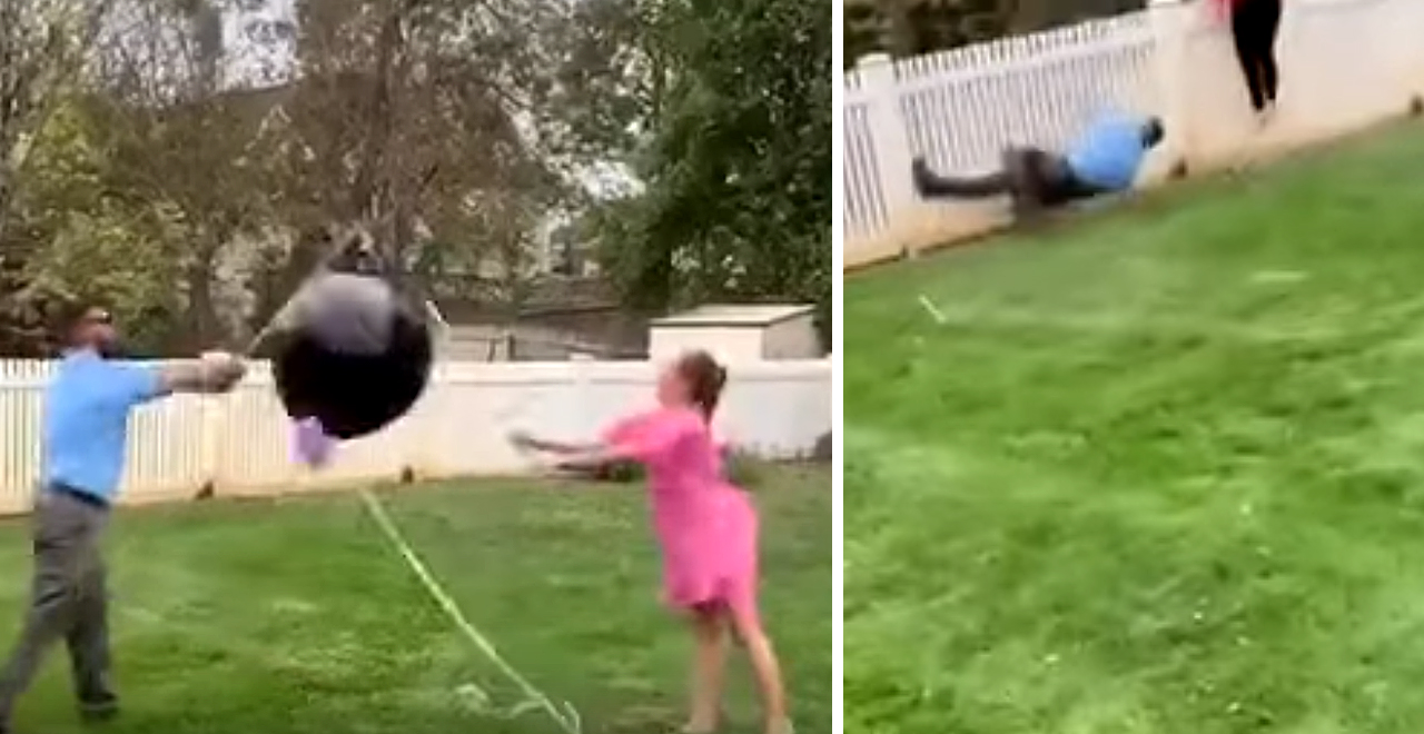 Gender Reveal Mishap