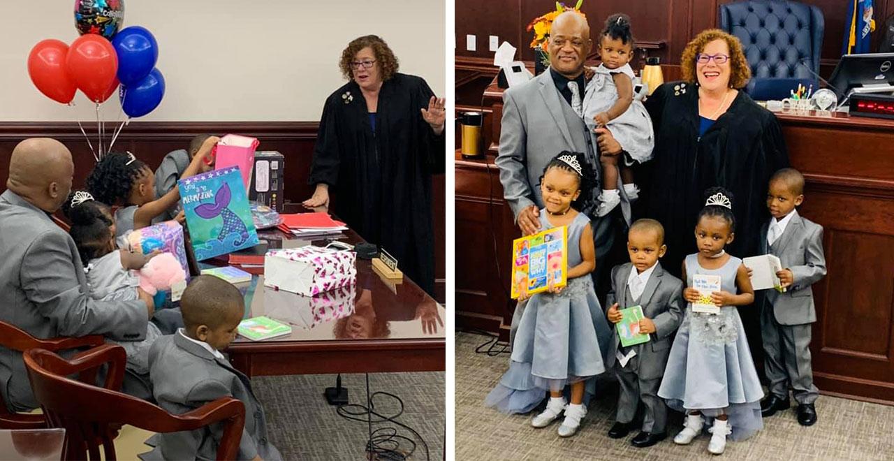 Lamont Thomas Adopts 5 Siblings
