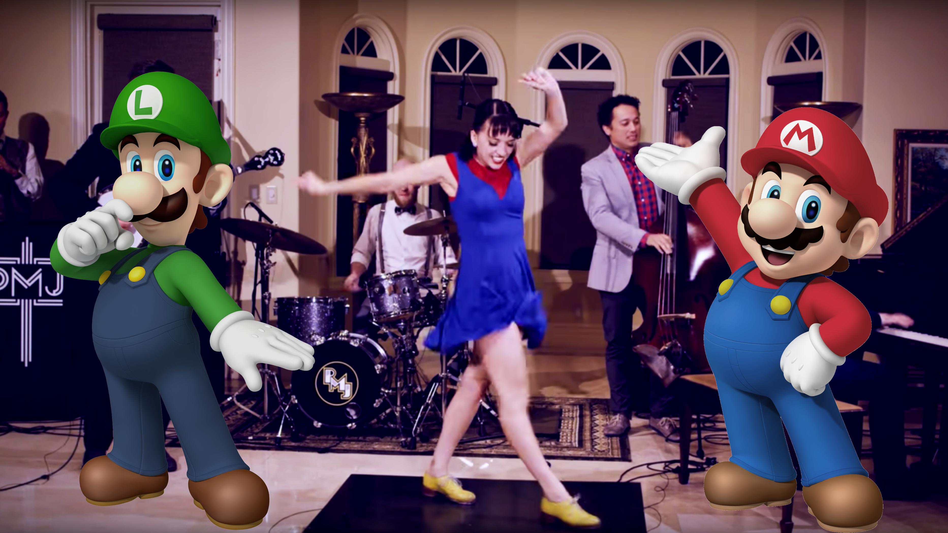 Mario Bros Tap Dance Medley