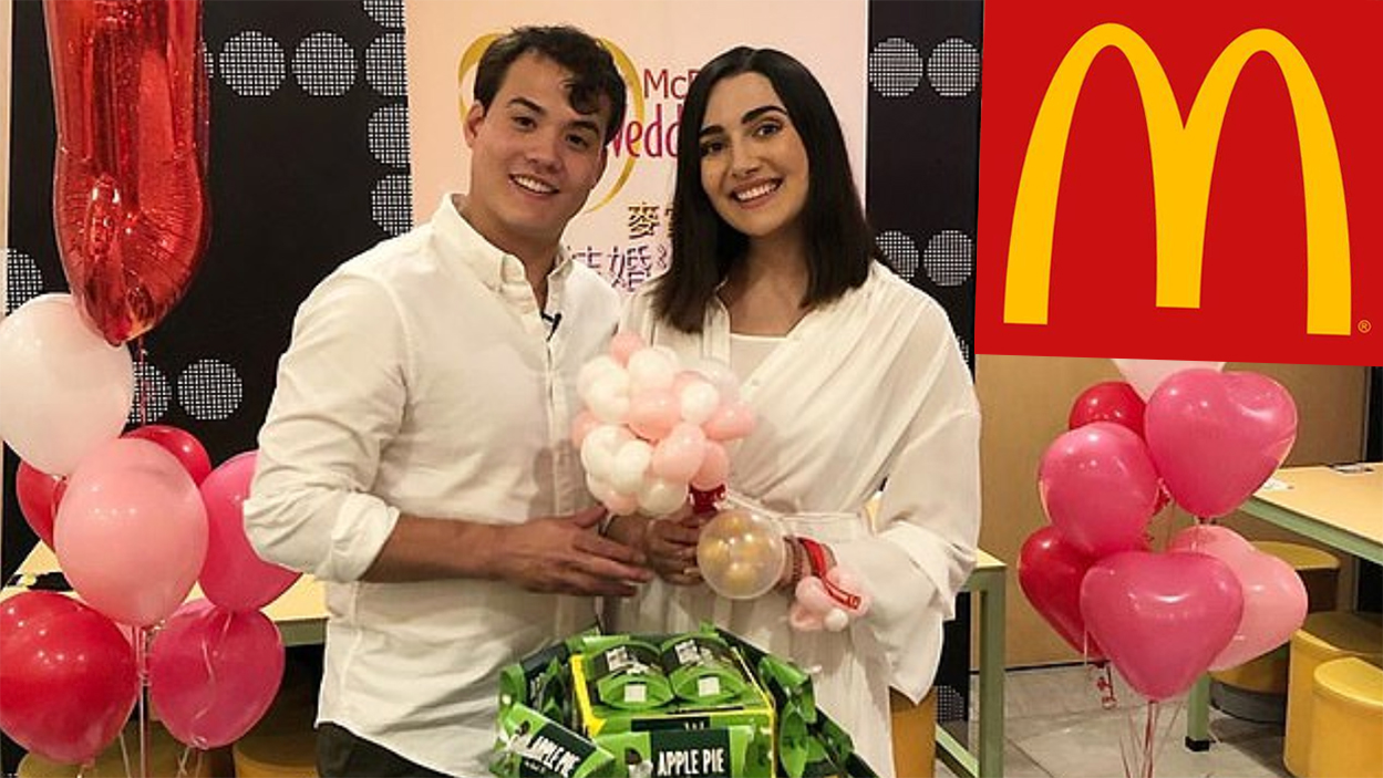 McDonald's Wedding in China
