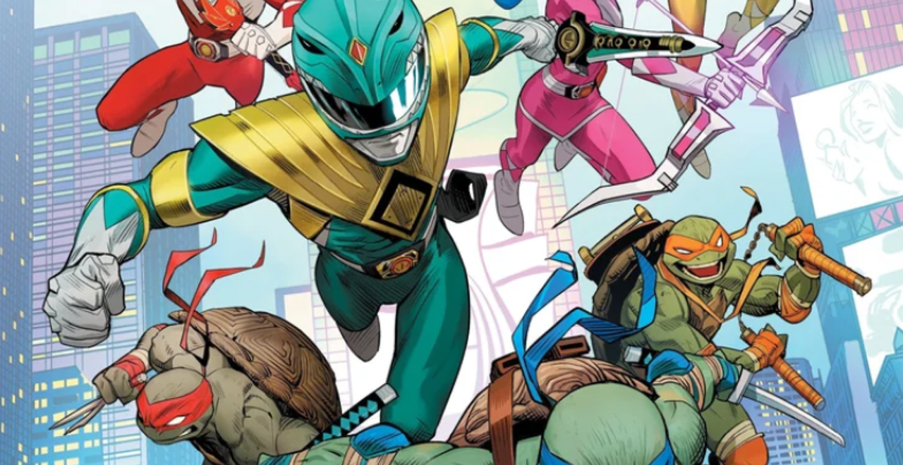 Power Rangers and Ninja Turtles Crossover
