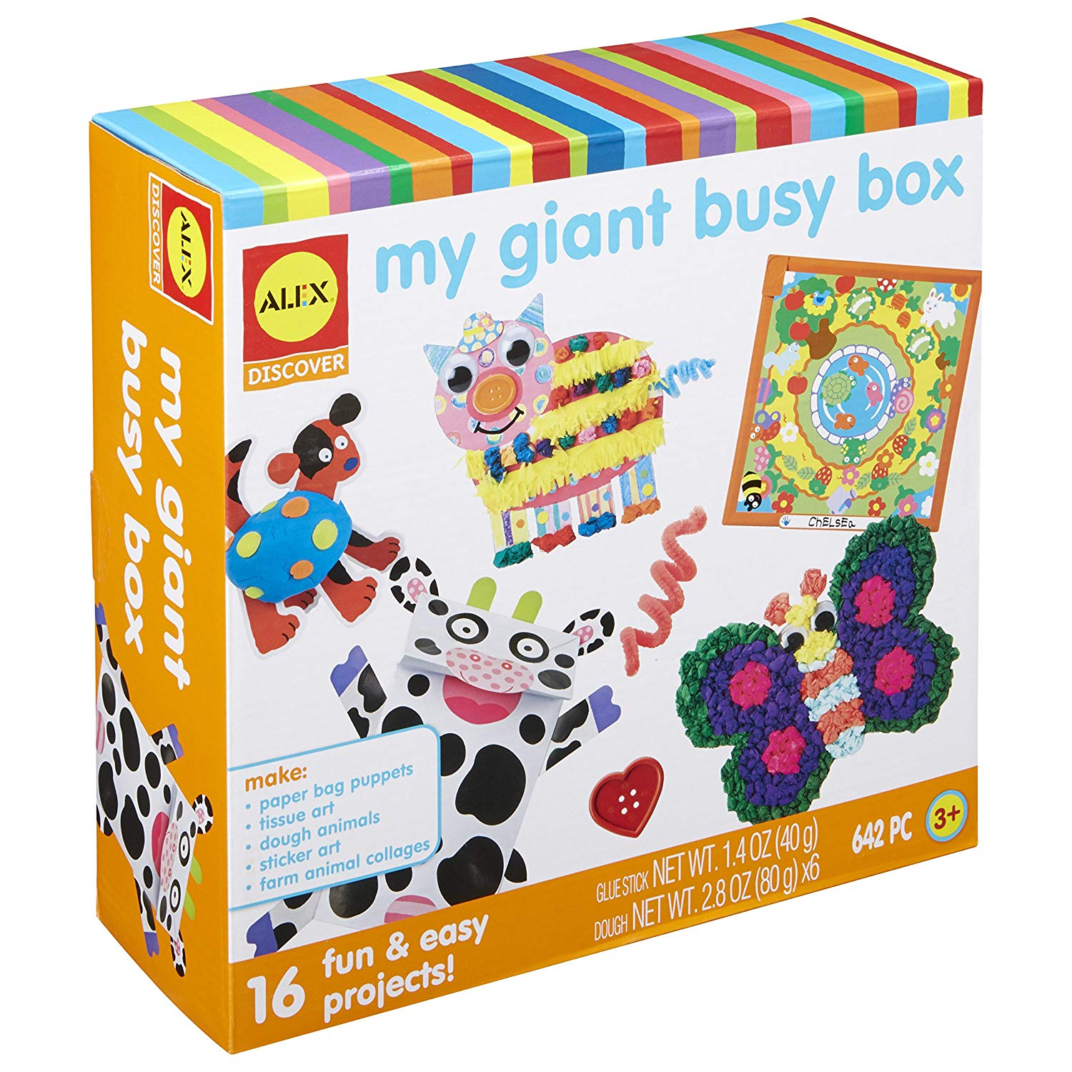ALEX Toys My Giant Busy Box Craft Kit- best gifts for kids