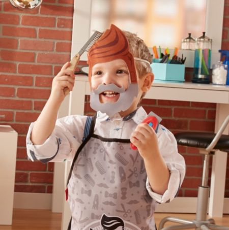 Barber Shop Playset