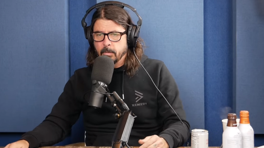 Dave Grohl Admits to Dad Rock