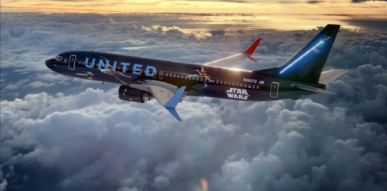 United's Star Wars Plane