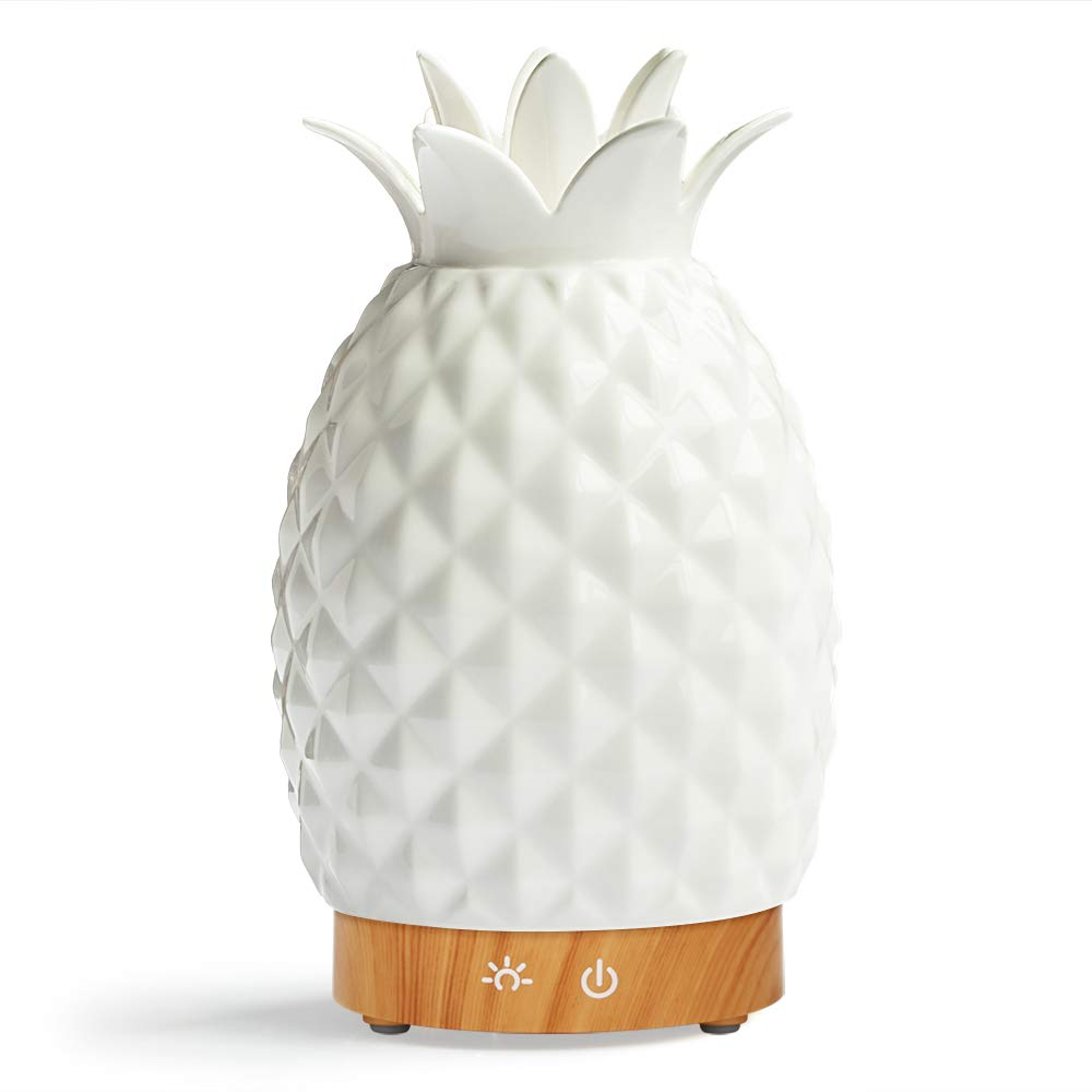 Ceramic Pineapple Essential Oil Diffuser-best gifts for moms