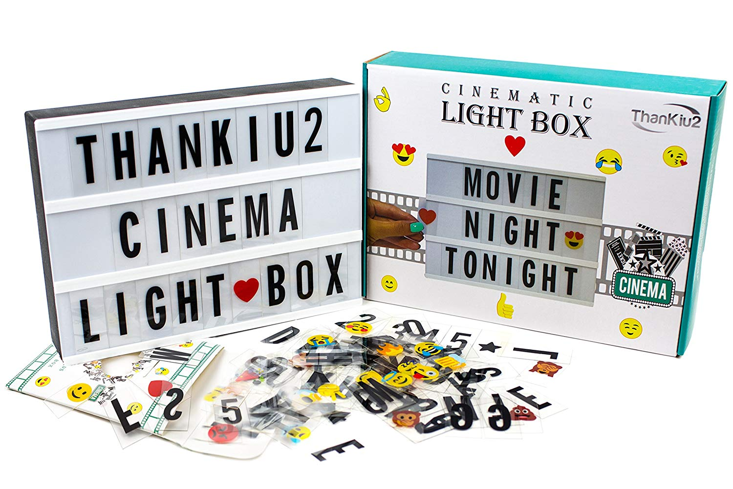 Cinema Light Box With Letters- best gifts for kids
