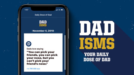 New Dad-isms App Delivers Daily Dad Jokes