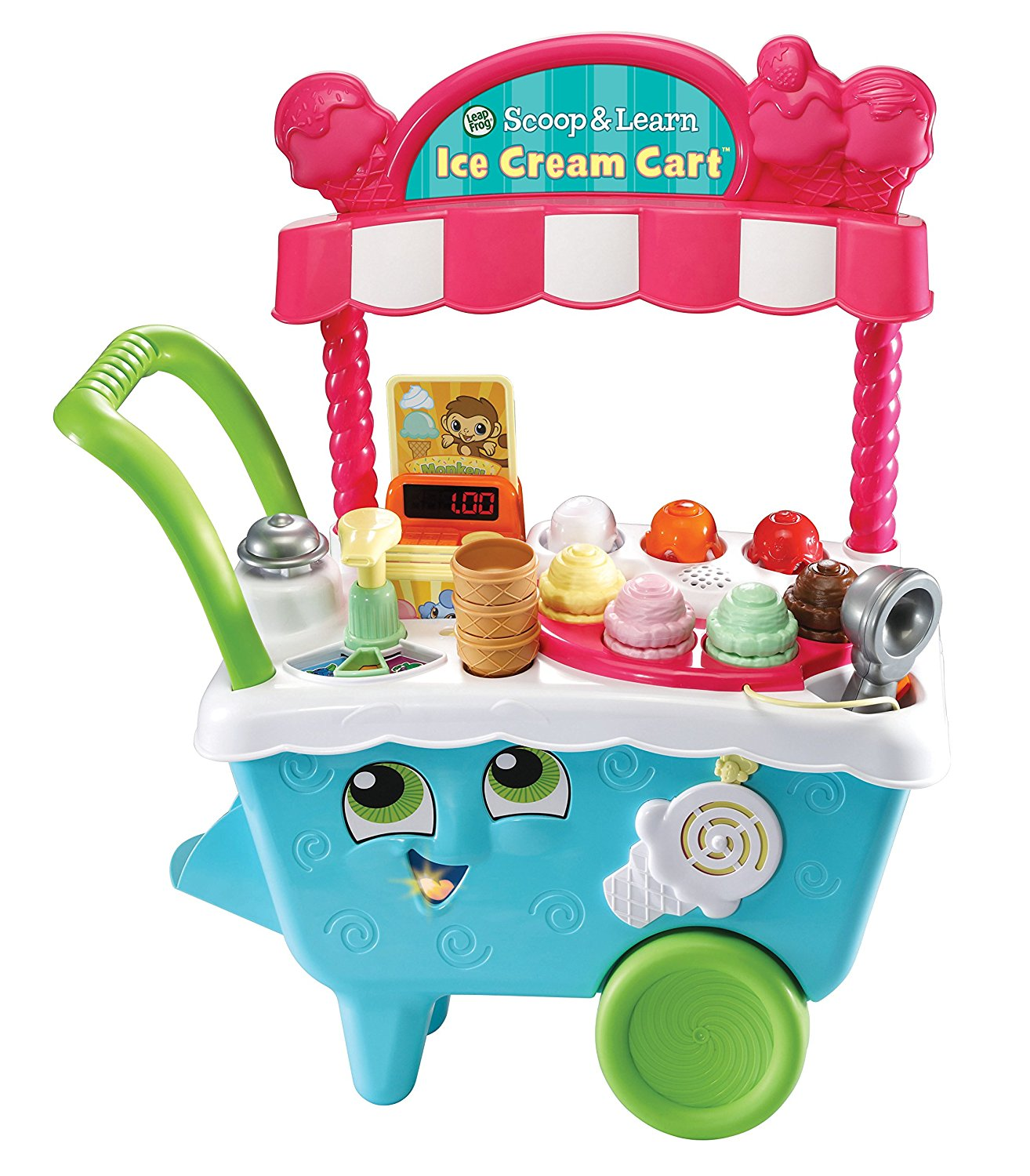 LeapFrog Scoop & Learn Ice Cream Cart- best gifts for kids