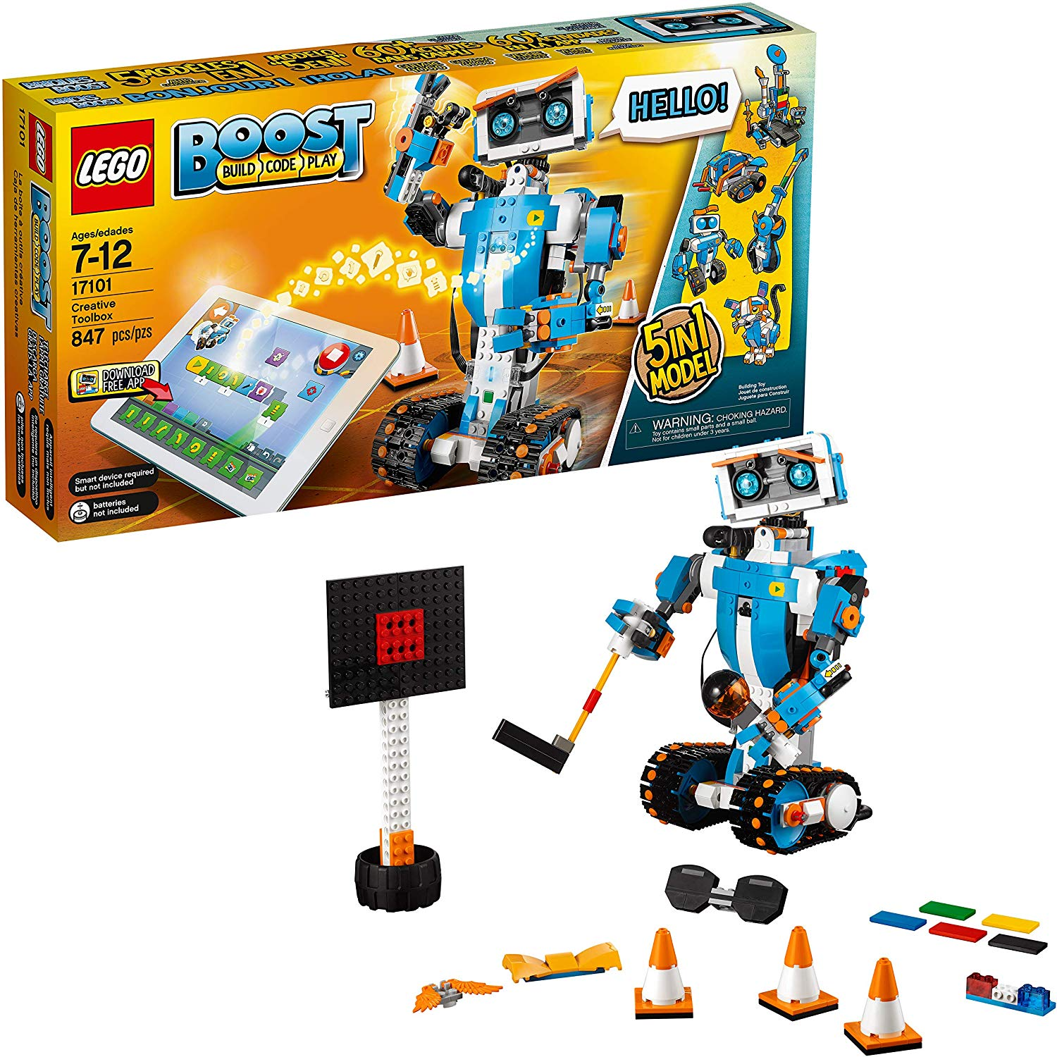 Lego Boost Creative Toolbox- best gifts for kids