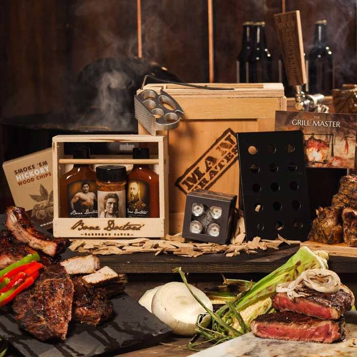 Man Crates Grill Master Crate
