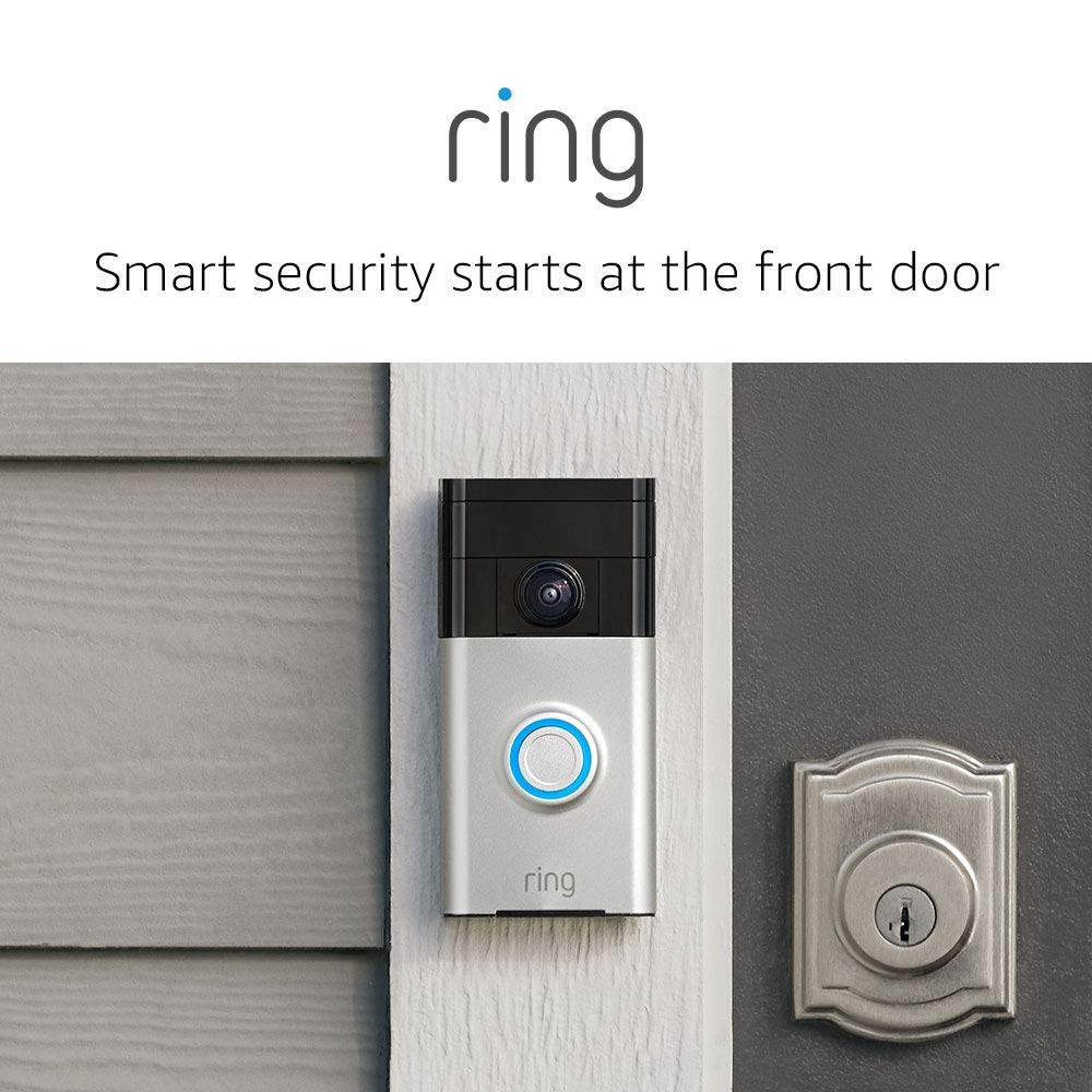 Ring Video Doorbell with HD Video-best gifts for moms